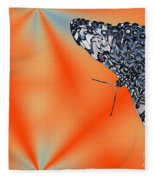 Exotic Abstract Fleece Blanket