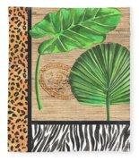 Exotic Palms 2 Fleece Blanket