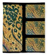 Exotic Repetitions Fleece Blanket