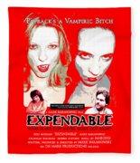 Expendable Poster Fleece Blanket