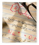 Experiment Notes In Applied Science Research Lab Fleece Blanket