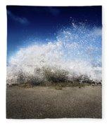 Exploding Seas Fleece Blanket