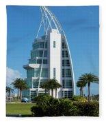 Exploration Tower Florida Fleece Blanket