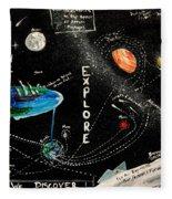 Explore And Discover Collector Edition Fleece Blanket