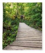Explore Nature Fleece Blanket