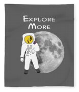 Explore The Universe Fleece Blanket