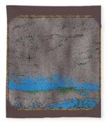Explorer Gray Fleece Blanket