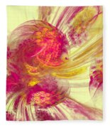 Explosion Of Color Fleece Blanket