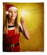 Explosive Christmas Gift Idea Fleece Blanket