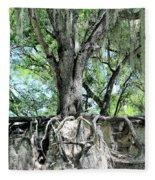 Exposed - Oak Roots Fleece Blanket