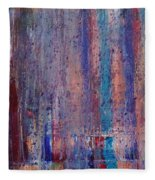 Expression # 9 The Blues Down And Out Fleece Blanket