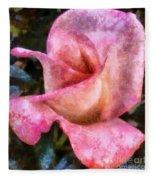 Exquisite Pink Fleece Blanket