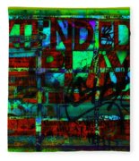 Extended Play Graffiti Radio/tonyadamo Fleece Blanket