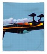Extra 300s Stunt Plane Fleece Blanket