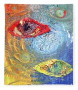Eye For Eye Fleece Blanket