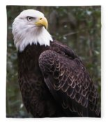 Eye Of The Eagle Fleece Blanket