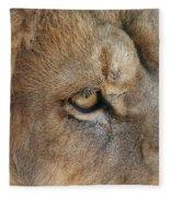 Eye Of The Lion #2 Fleece Blanket