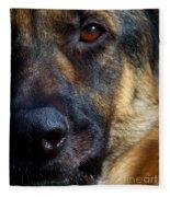Eye Of The Shepherd Fleece Blanket