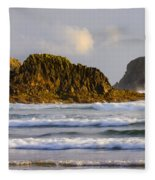 Eye Of The Storm Fleece Blanket