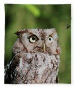 Eye On The Fly Fleece Blanket
