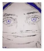 Eyes Fleece Blanket