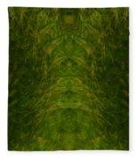 Eyes Of The Garden-2 Fleece Blanket