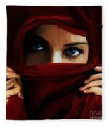 Eyes On You 01 Fleece Blanket