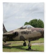 F-105 Thunderchief - 1 Fleece Blanket