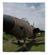 F - 105 Thunderchief Fleece Blanket