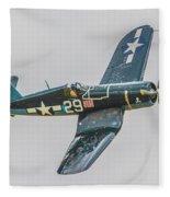 F-4u Corsair Fleece Blanket