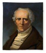F. M. Charles Fourier  Fleece Blanket