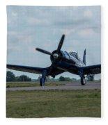 F4u-4 Corsair Airplane 30 Fleece Blanket