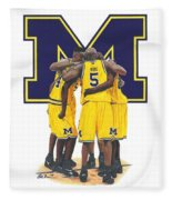 Fab Five Fleece Blanket