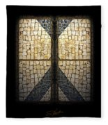 Faberge Sidewalk Fleece Blanket