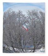 Fabricant De Glace / Ice Maker Fleece Blanket