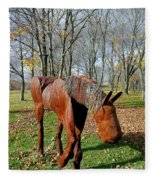 Fabulous Fillie Fleece Blanket