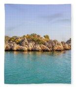 Fabulous Island Fleece Blanket