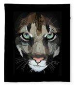 Face De Puma Fleece Blanket