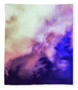 Faces In The Clouds 002 Fleece Blanket