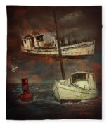 Fade Away Original Fleece Blanket