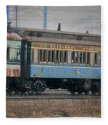 Faded Glory - B And O Railroad Car Fleece Blanket