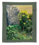 Failte Stone, A Welcome In Ireland Fleece Blanket