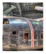 Fairchild C-123k Provider Fleece Blanket