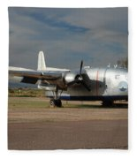 Fairchild Flying Boxcar N15501 Buckeye Arizona Fleece Blanket