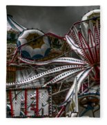 Fairground Rides Fleece Blanket