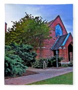 Fairhope Alabama Methodist Church Fleece Blanket