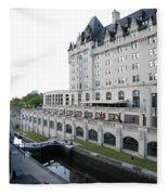 Fairmont Chateau Laurier - Ottawa Fleece Blanket