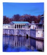 Fairmount Water Works - Philadelphi Fleece Blanket