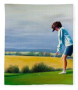 Fairy Golf Mother Fleece Blanket