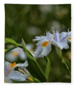 Fairy Iris 2 Fleece Blanket